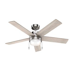 Claudette - 52 Inch Ceiling Reversible Fan with LED Light