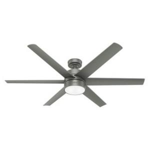 Solaria - 60 Inch Outdoor Ceiling Fan with LED Light and Handheld Remote