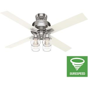 Vivien - 52 Inch Ceiling Fan with Light Kit and Remote Control