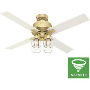 "Vivien - 52"" Ceiling Fan with Light Kit and Remote Control"