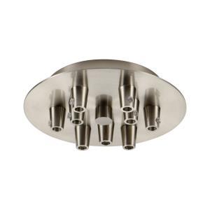 Custom Cord - 5.88 Inch 9 Light Round Multi Port Canopy
