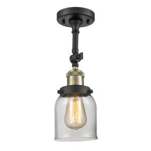 Small Bell - 16 Inch 1 Light Semi-Flush Mount