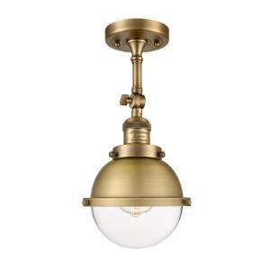 Hampden - 7.25 Inch 3.5W 1 LED Semi-Flush Mount