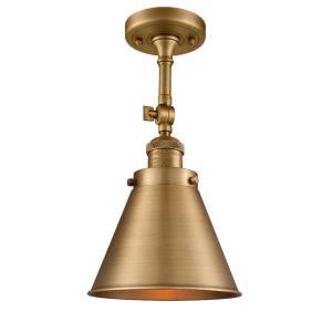 Appalachian - 16 Inch 3.5W 1 LED Semi-Flush Mount
