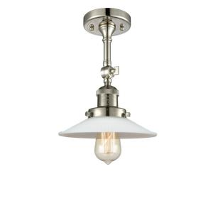 Halophane - 10.5 Inch 1 Light Semi-Flush Mount