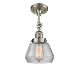 Fulton - One Light Semi-Flush Mount