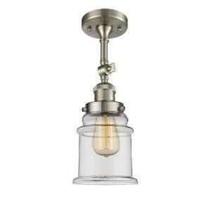 Canton - 13.5 Inch 3.5W 1 LED Semi-Flush Mount