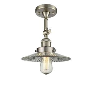 One Light Semi-Flush Mount