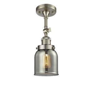 Small Bell - 5 Inch 3.5W 1 LED Semi-Flush Mount