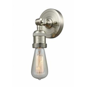 Bare Bulb-1 Light ADA Wall Sconce in Traditional Style-4.5 Inches Wide by 6.13 Inches High