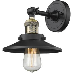 Railroad - 8 Inch 1 Light Wall Sconce