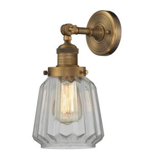 Chatham-One Light Wall Sconce-6 Inches Wide by 12 Inches High