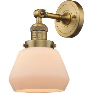 Fulton-One Light Wall Sconce-7 Inches Wide by 11 Inches High