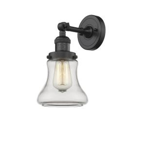 Bellmont-1 Light Wall Sconce in Industrial Style-6.5 Inches Wide by 11 Inches High