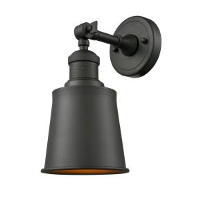 Addison-One Light Wall Sconce-5 Inches Wide by 11 Inches High