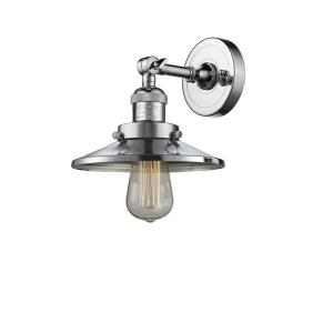 One Light Railroad Wall Sconce