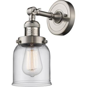 One Light Small Bell Wall Sconce