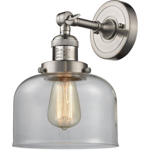 One Light Large Bell Wall Sconce