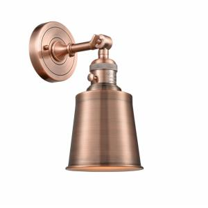 Addison-1 Light Wall Sconce in Traditional Style-5 Inches Wide by 11 Inches High