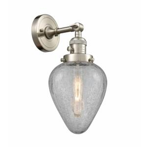 Geneseo-1 Light Wall Sconce in Industrial Style-6.5 Inches Wide by 14 Inches High