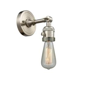 Bare Bulb-1 Light Wall Sconce in Traditional Style-4.5 Inches Wide by 6.38 Inches High