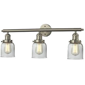 Three Light Small Bell Wall Bracket
