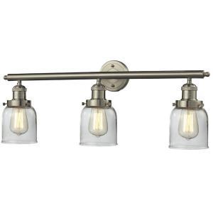 Three Light Small Bell Wall Bracket