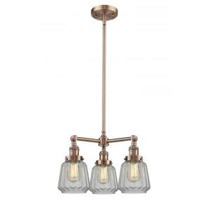 Chatham-Three Light Adjustable Chandelier-24 Inches Wide by 15 Inches High