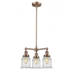 Canton - Three Light Adjustable Chandelier