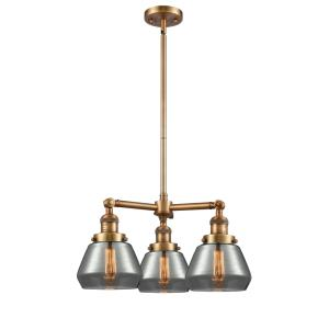 Fulton - Three Light Adjustable Chandelier