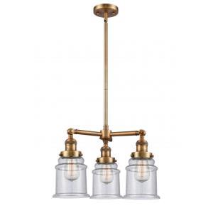 Canton - Three Light Adjustable Chandelier