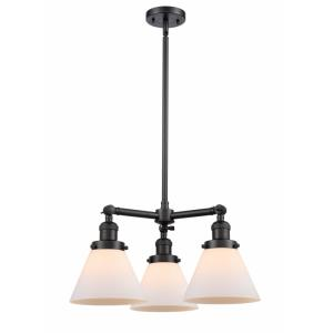Large Cone - 22 Inch 10.5W 3 LED Chandelier