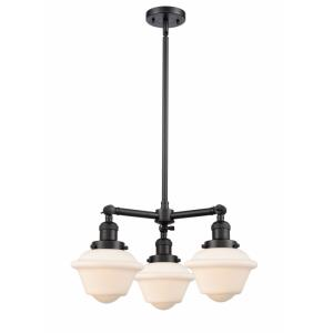 Small Oxford - 3 Light Chandelier