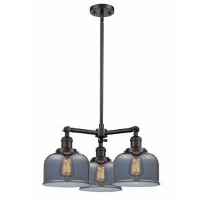 Large Bell - 3 Light Chandelier