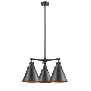 Appalachian-3 Light Chandelier in Traditional Style-21 Inches Wide by 14 Inches High