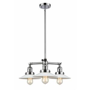 Halophane - 21.63 Inch 10.5W 3 LED Chandelier