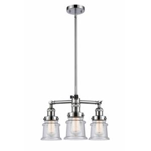 Small Canton - 18 Inch 10.5W 3 LED Chandelier