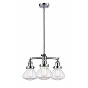 Olean - 18.75 Inch 10.5W 3 LED Chandelier