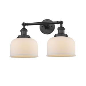 Large Bell - 12 Inch 2 Light Bath Vanity