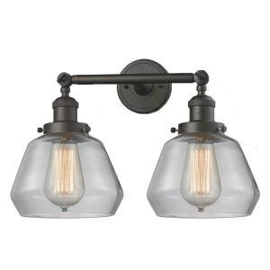 Fulton - Two Light Adjustable Wall Sconce