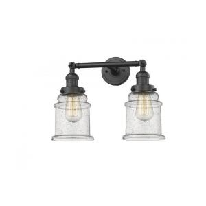 Canton-Two Light Adjustable Wall Sconce-16.5 Inches Wide by 11 Inches High