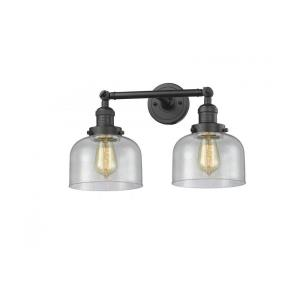 Large Cone-Two Light Adjustable Wall Sconce-16 Inches Wide by 9 Inches High