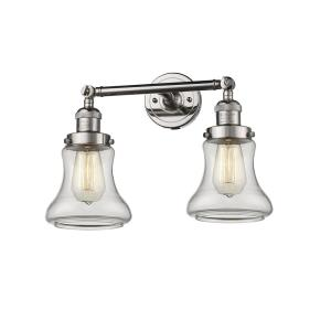 Bellmont-Two Light Adjustable Wall Sconce-16.5 Inches Wide by 11 Inches High