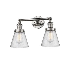 Small Bell - Two Light Adjustable Wall Sconce