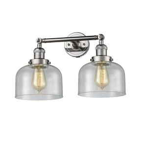 Large Cone - Two Light Adjustable Wall Sconce
