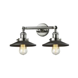 Railroad - Two Light Adjustable Wall Sconce