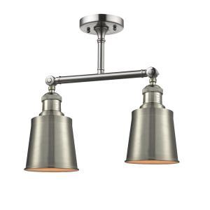 """Addison - 15"""" 6W 2 LED Semi-Flush Mount"""