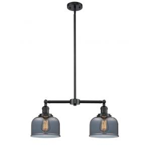 X-Large Bell - 2 Light Chandelier