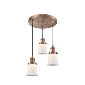 Small Canton - 3 Light Multi-Pendant