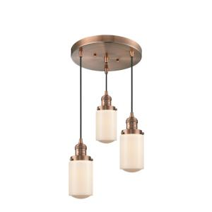 Dover - 3 Light Multi-Pendant